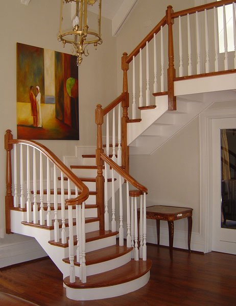 UPSTAIRS STAIRS & BALUSTRADES | STAIRS